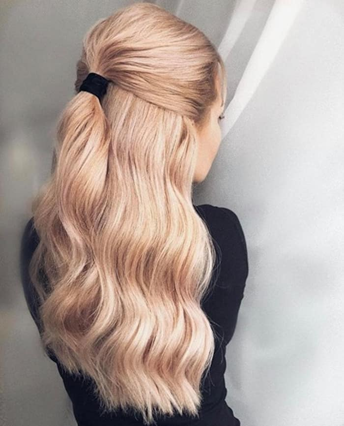 cute hairstyles you can do in under 5 minutes 8