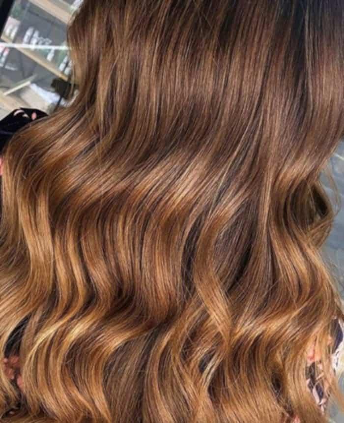 honey brown hair color trend 1