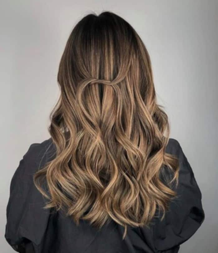 honey brown hair color trend 4