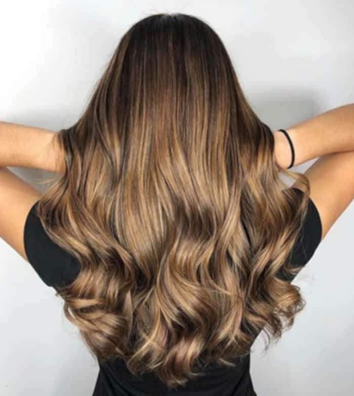 honey brown hair color trend 5