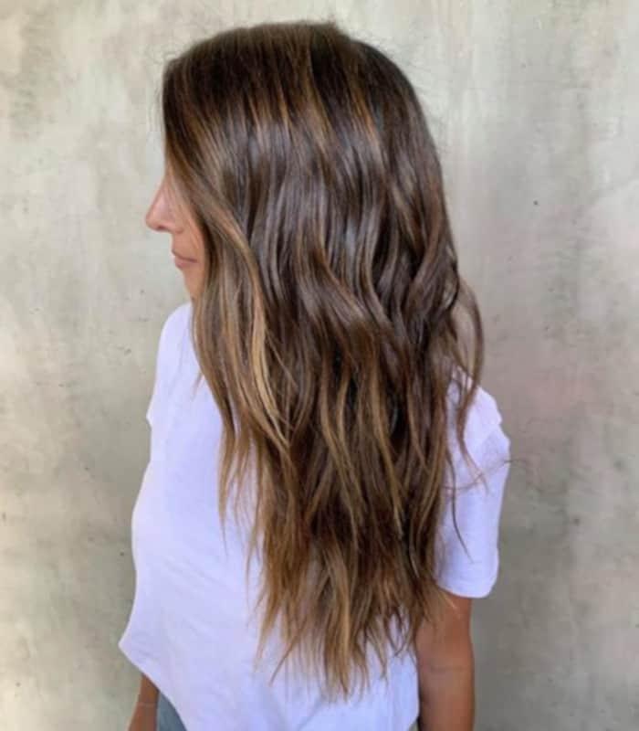 honey brown hair color trend 8