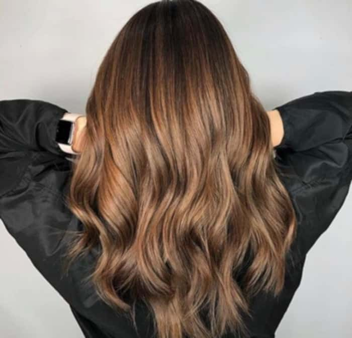honey brown hair color trend 9