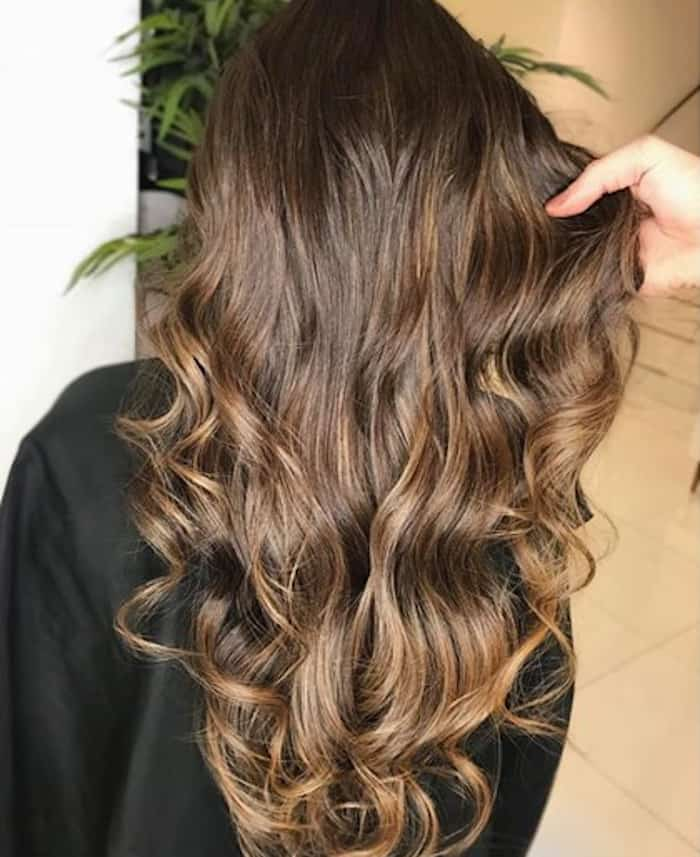 illuminated brunette hair color 9
