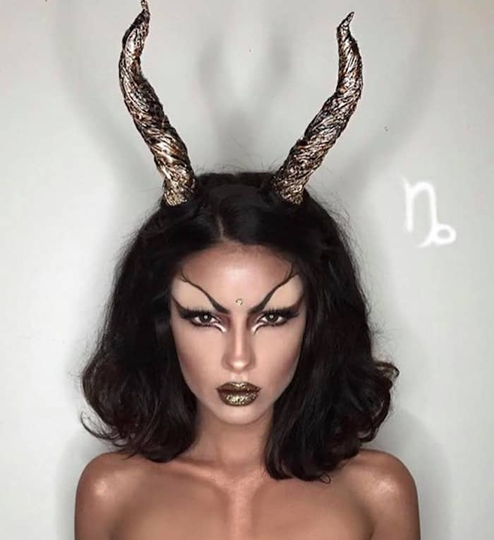 makeup look inspired by zodiac signs 10