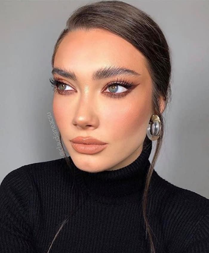 monochromatic makeup looks 3