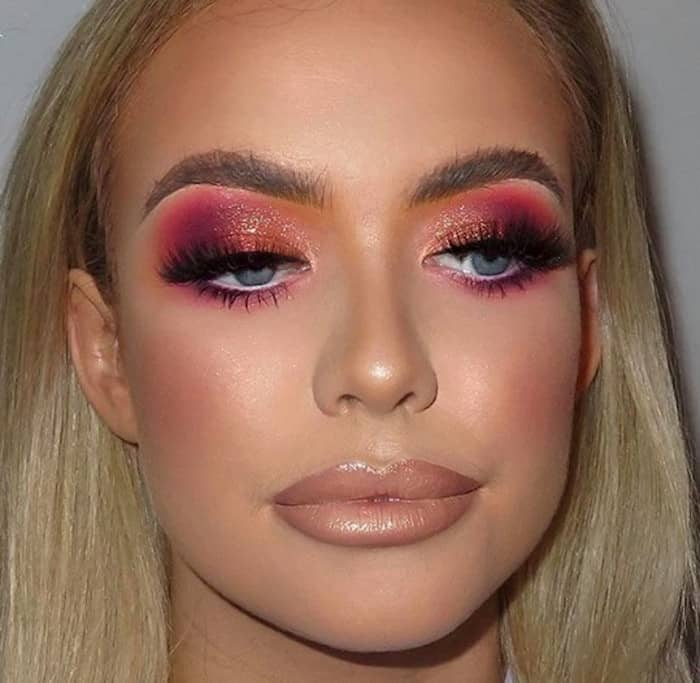 valentine's day makeup looks 2