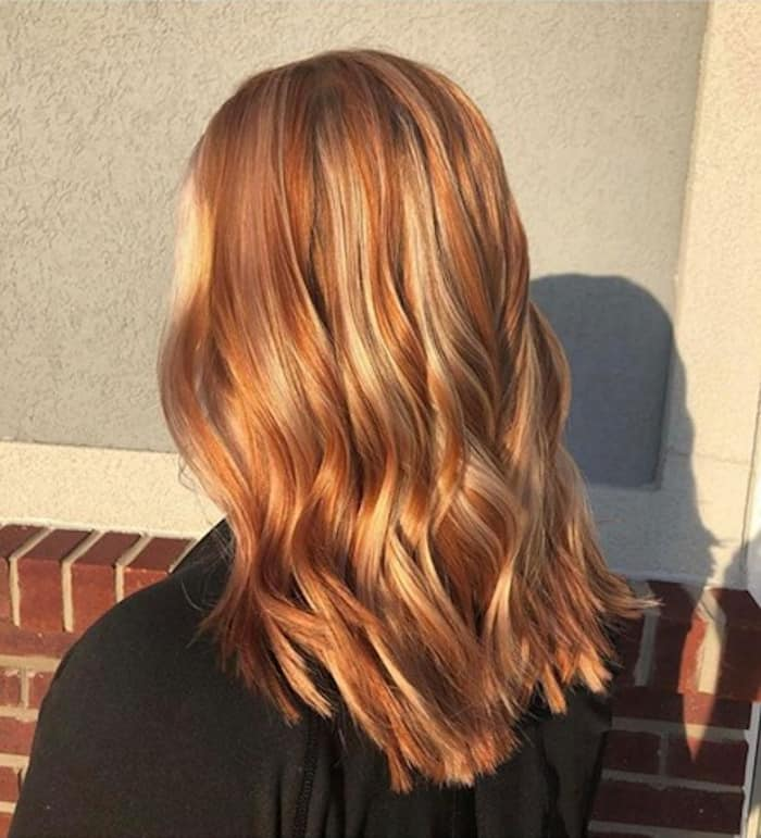 burnt orange hair color trend 7