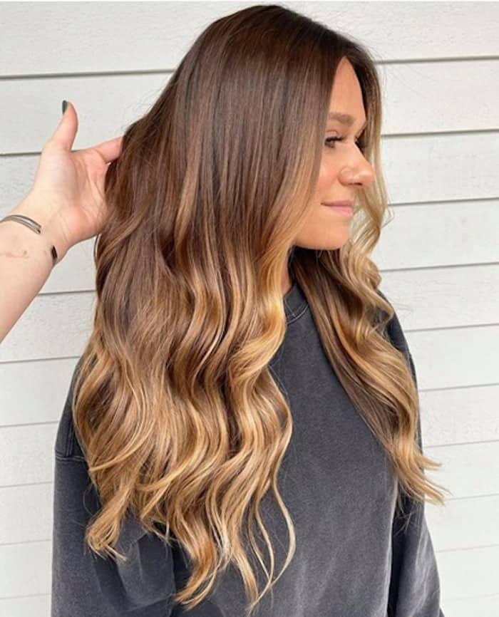 caramel hair 8