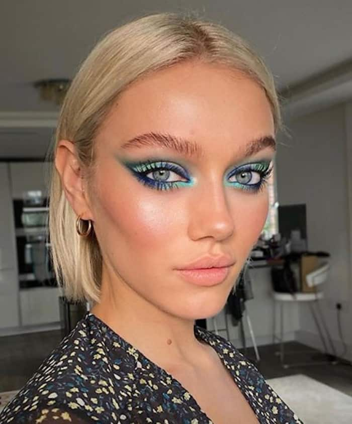 cool toned makeup is cool again