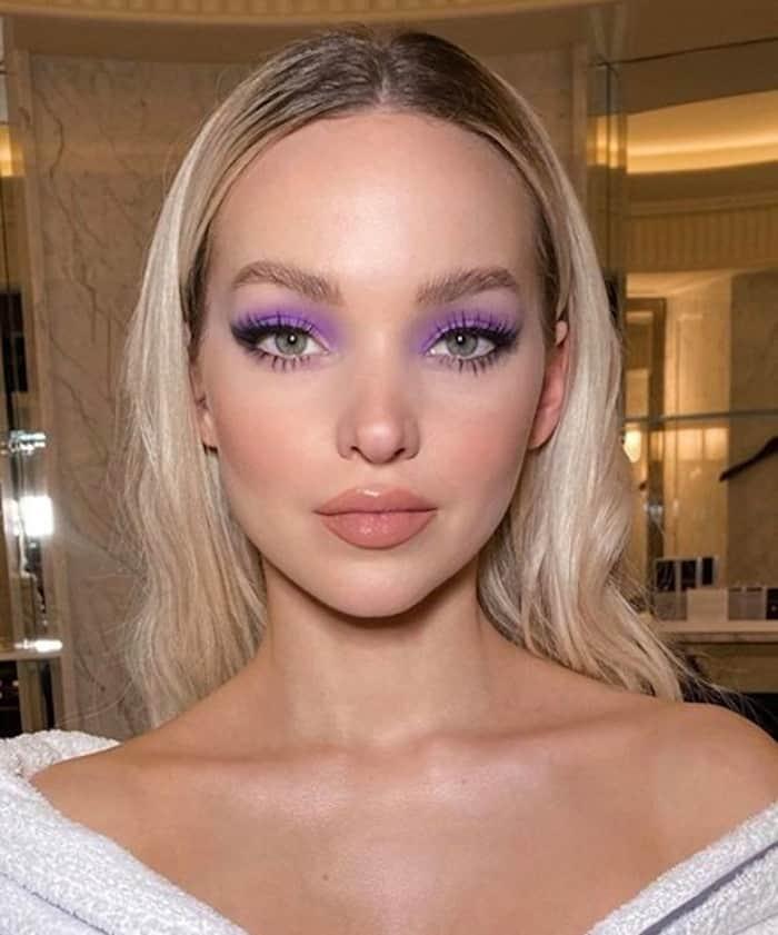 electric eyes makeup trend celebrities 4