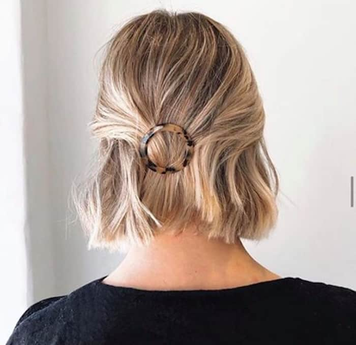 how to accessorize short hair 9