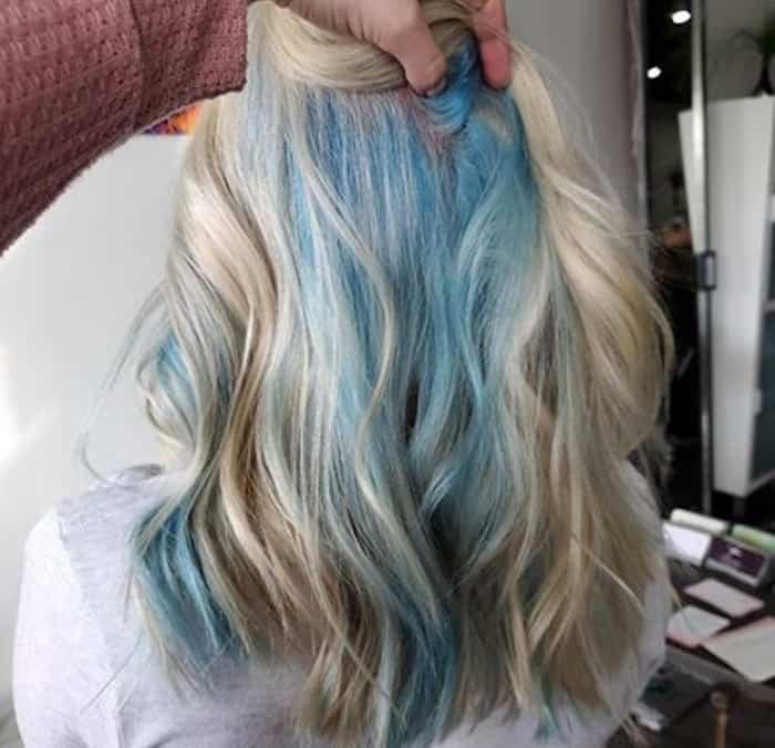 inverted hair color trend peekaboo hair 8