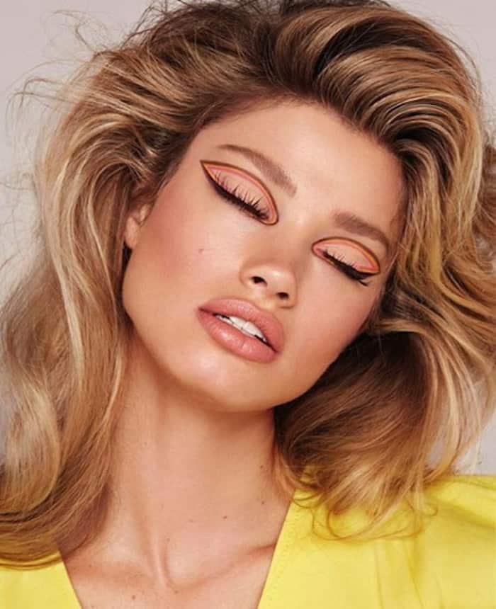 negative space makeup trend 10