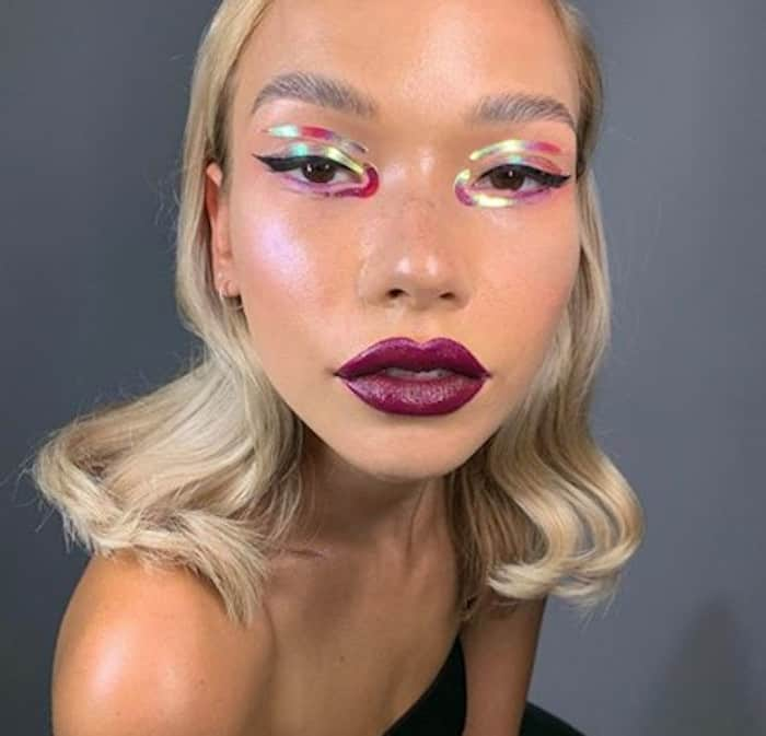 negative space makeup trend 7