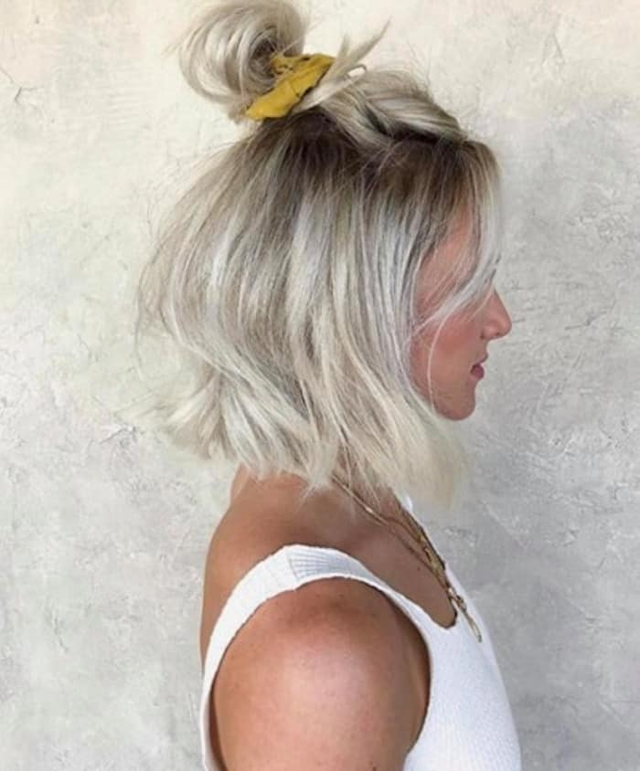 scrunchie hairstyles trend 6