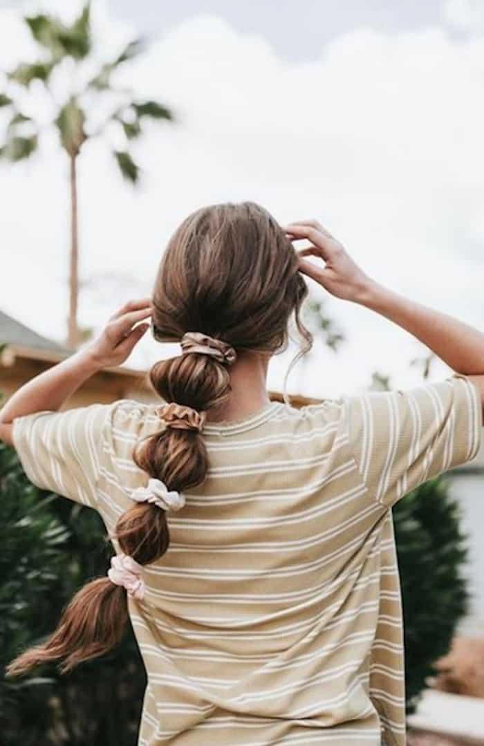 scrunchie hairstyles trend 7