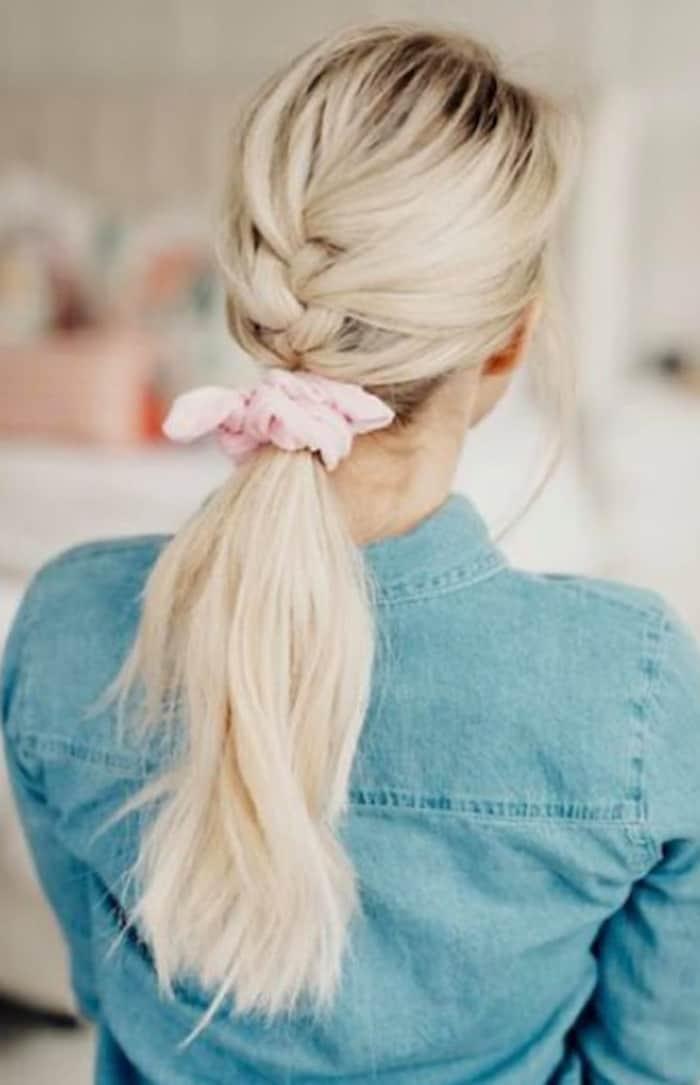 scrunchie hairstyles trend 8