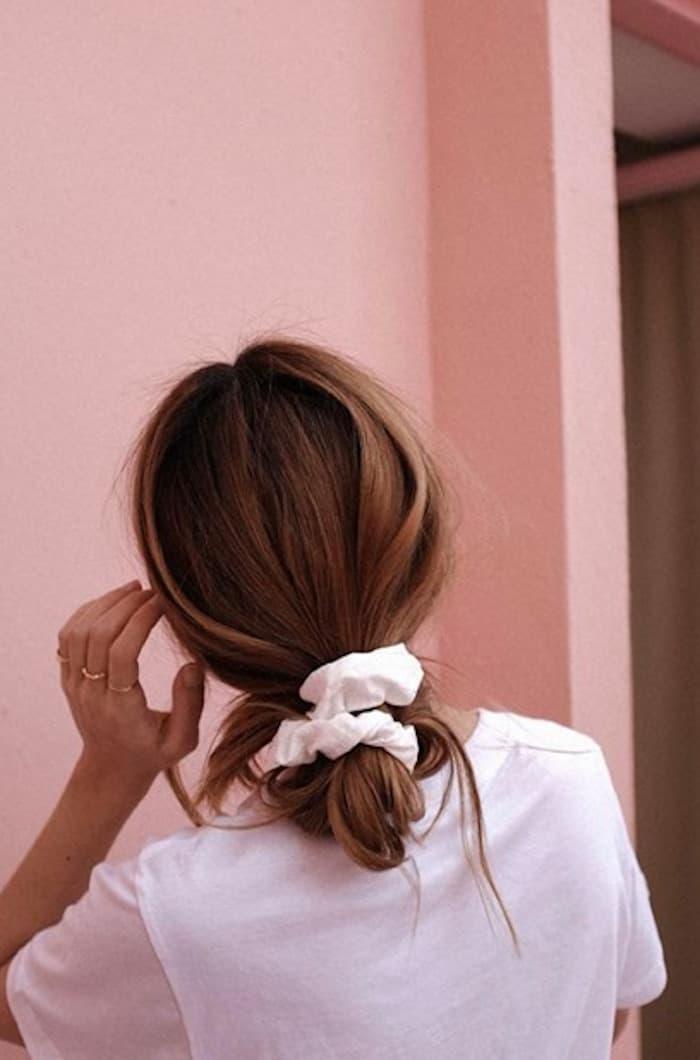 scrunchie hairstyles trend 9