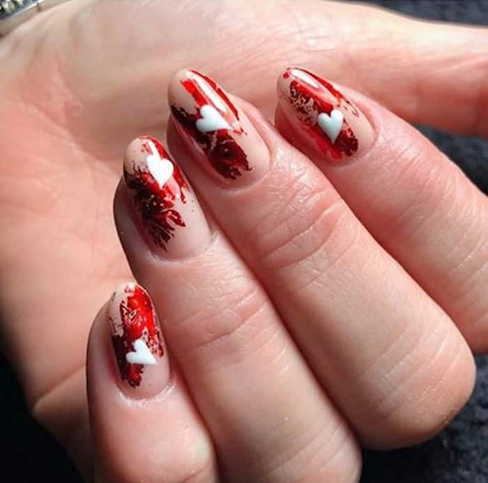 valentines day nails 3