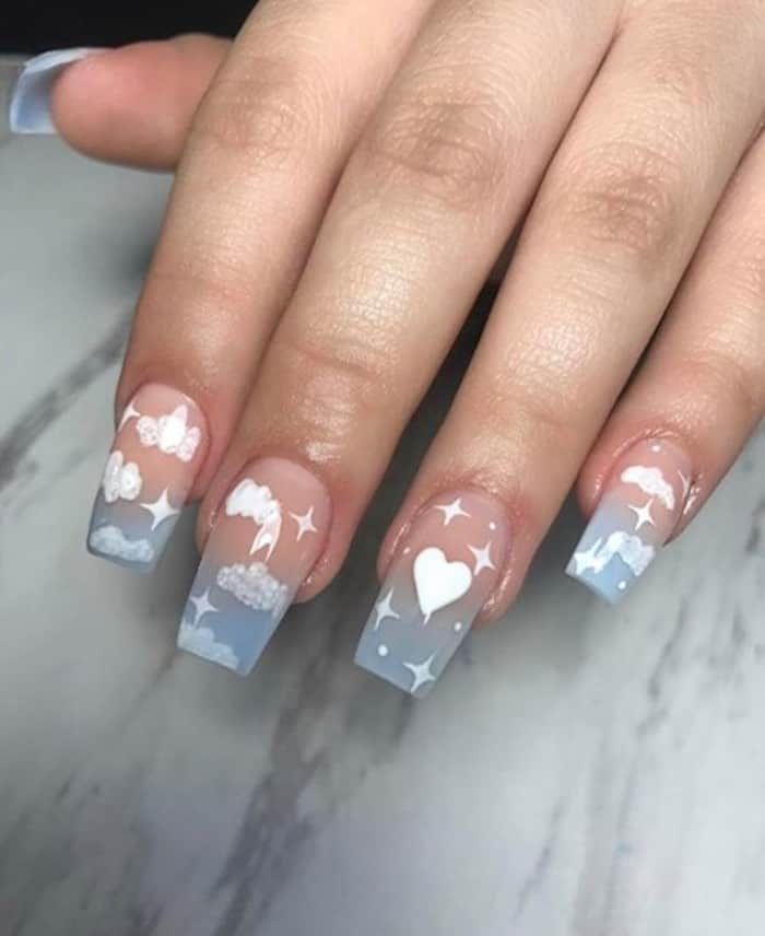 valentines day nails 7