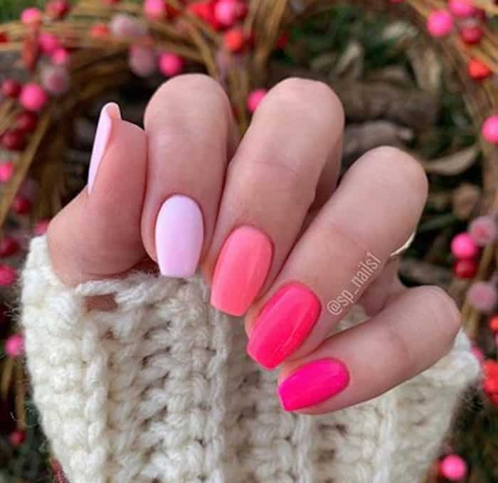 valentines day nails 9