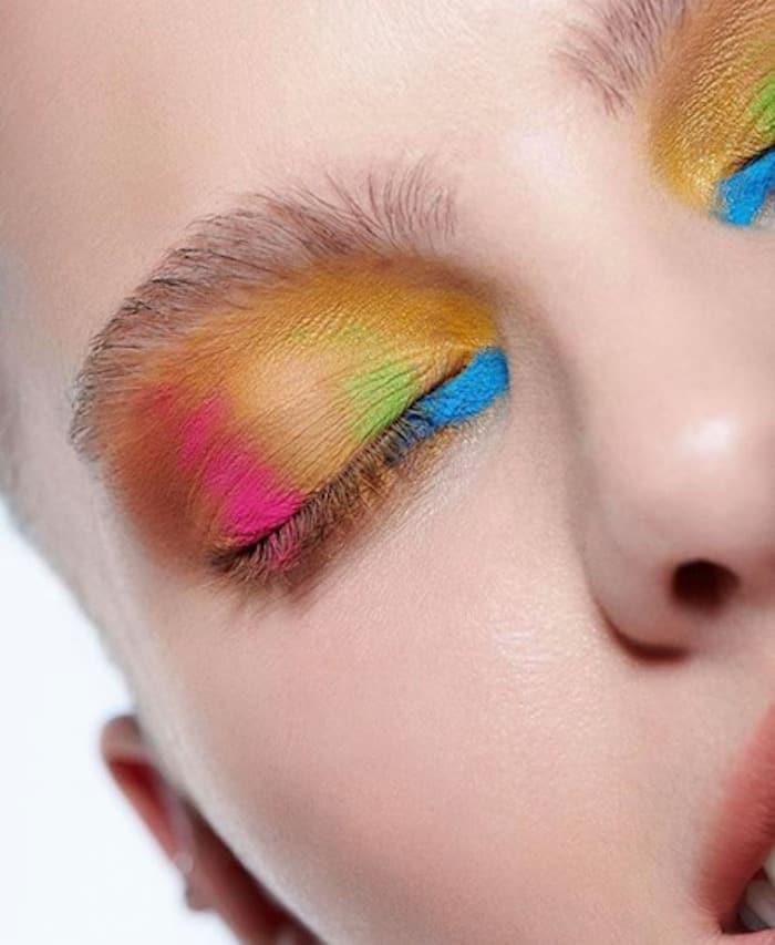 watercolor makeup trend 10