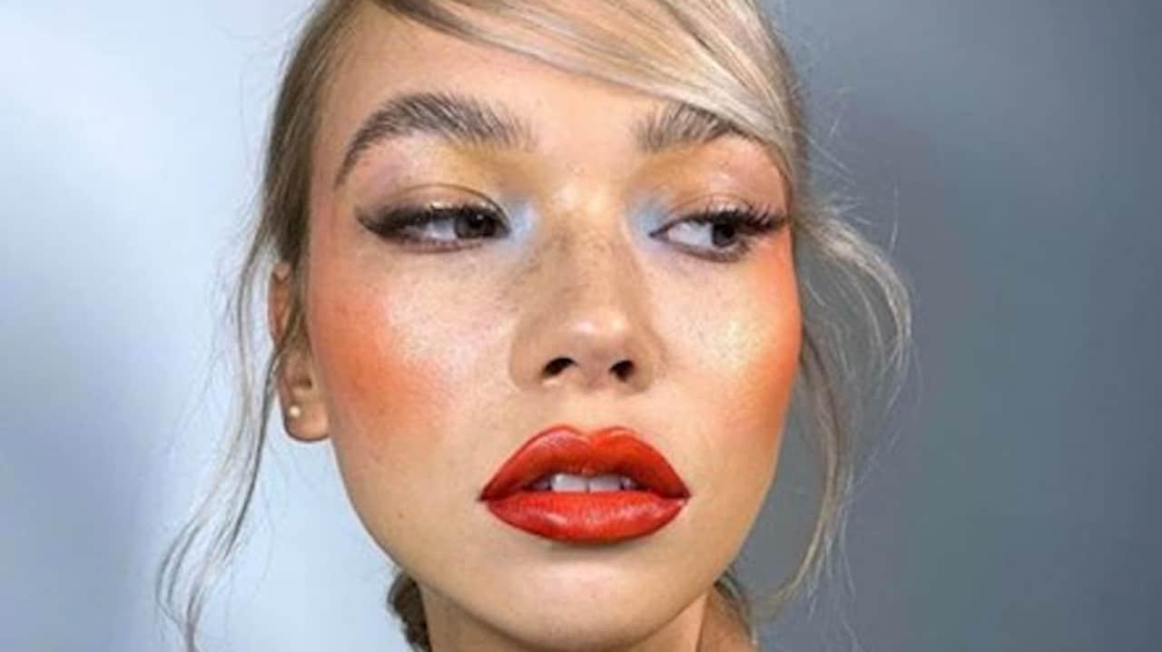 Watercolor Makeup Trend