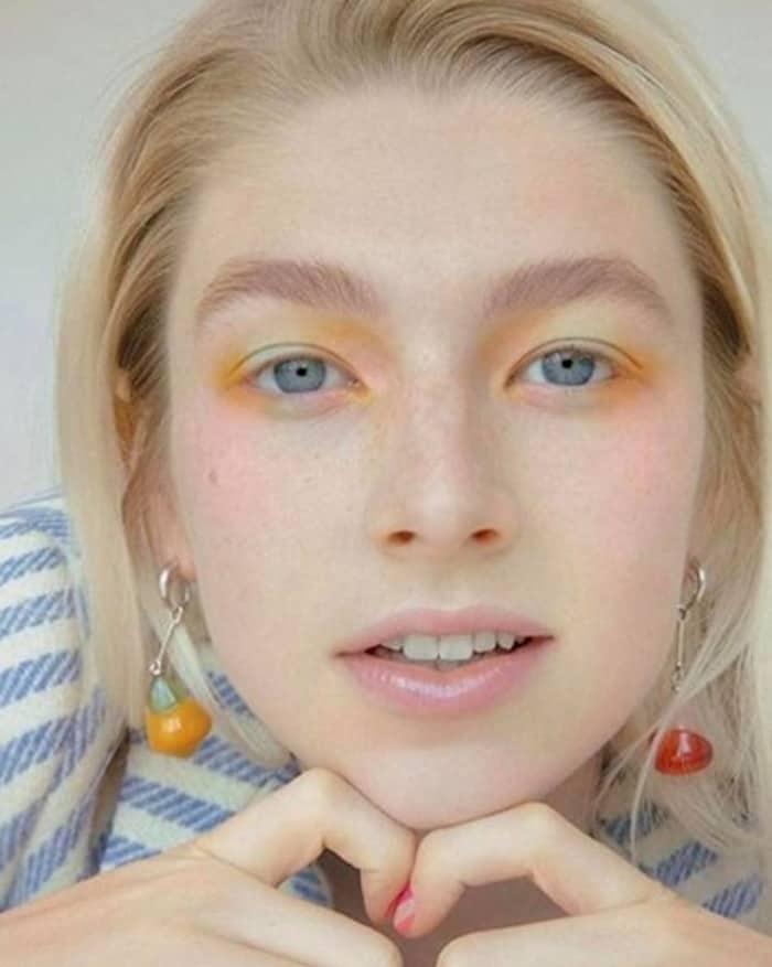 watercolor makeup trend 8