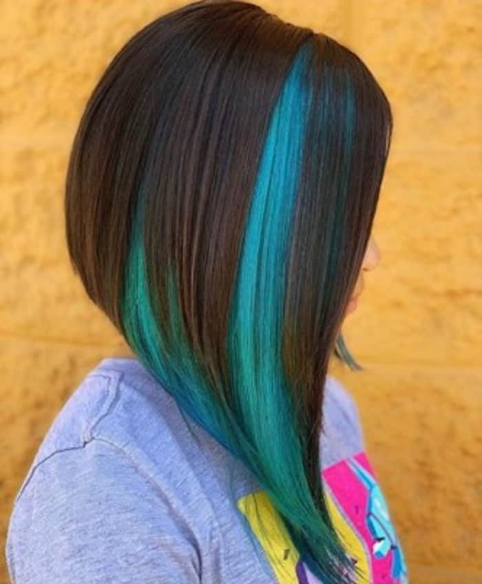 zodiac signs hairstyles – asymmetrical bob scorpio