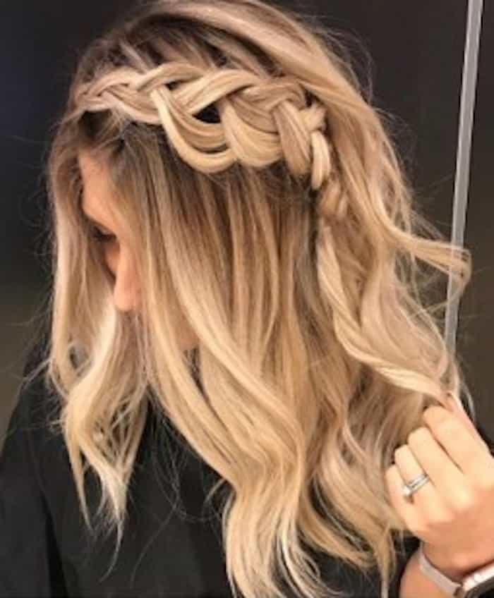 zodiac signs hairstyles – libra romantic braids