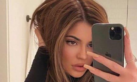 Golden Brunette Hair Color Trend Kylie Jenner