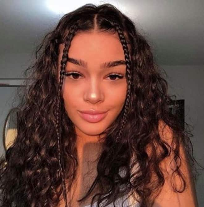 sexy and easy hairstyles for curly hair 8
