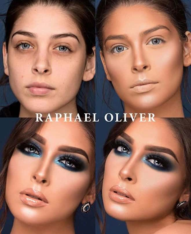 this makeup artist shows the power of makeup through 4 step beauty transformations 3