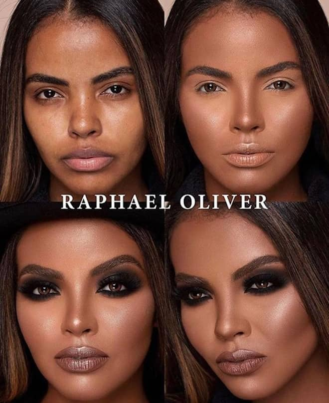 this makeup artist shows the power of makeup through 4 step beauty transformations 6
