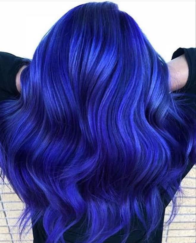 which to try hair color based on your zodiac – aquarius blue hair