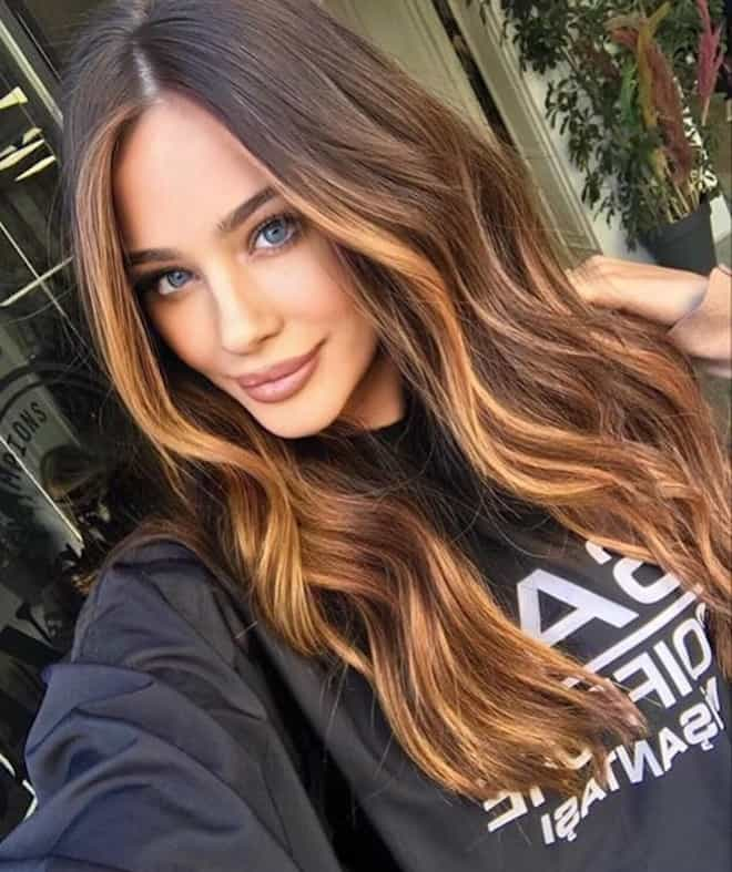 which to try hair color based on your zodiac – capricorn natural balayage