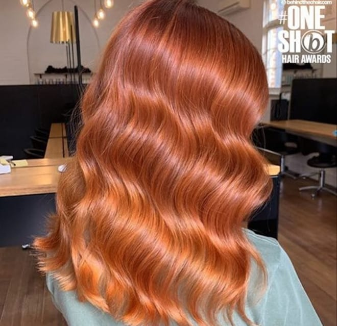 which to try hair color based on your zodiac – leo copper hair