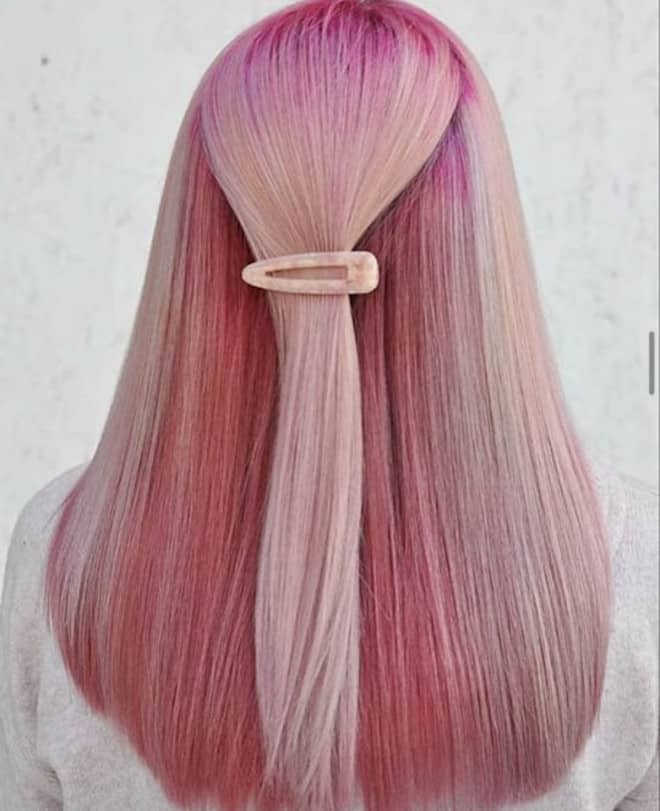which to try hair color based on your zodiac - taurus pink