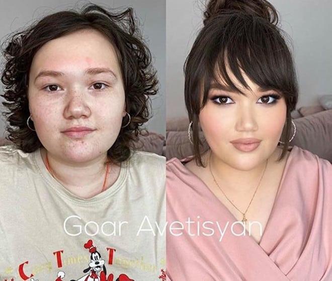beauty transformations by goar avetisyan 10