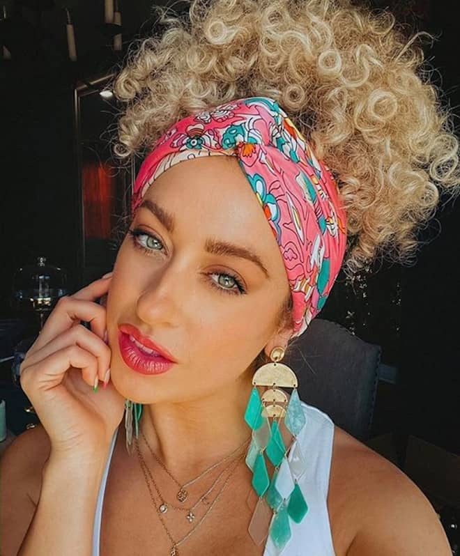 chic & easy curly updos