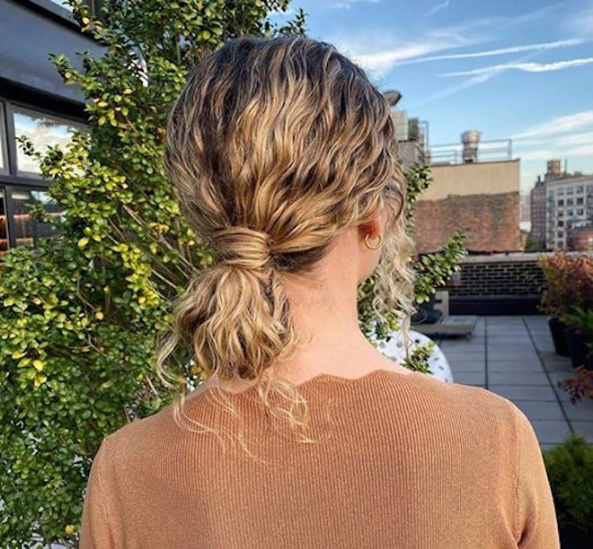 chic & easy curly updos 7