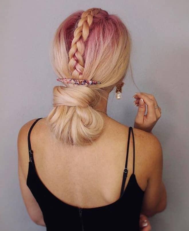 feminine braids ideas 7