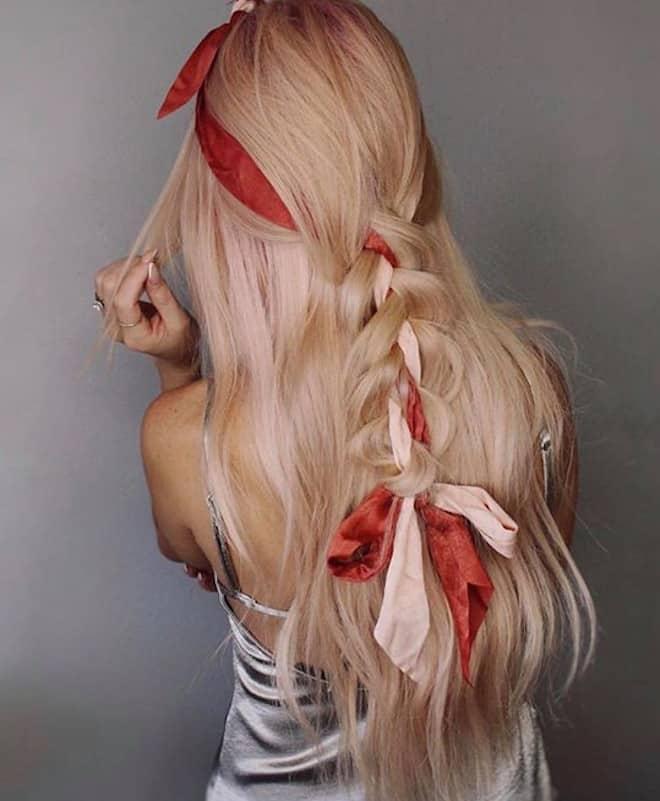 feminine braids ideas 8