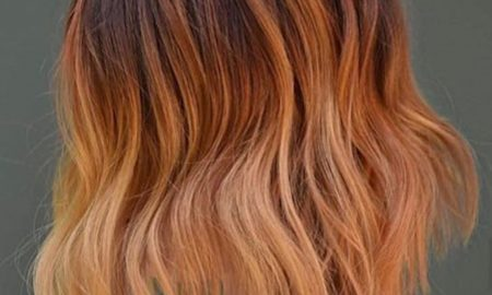 Ginger Peach Hair Color