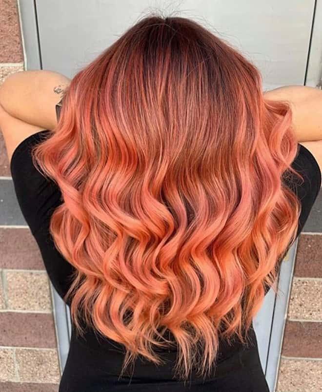 ginger peach hair color 3
