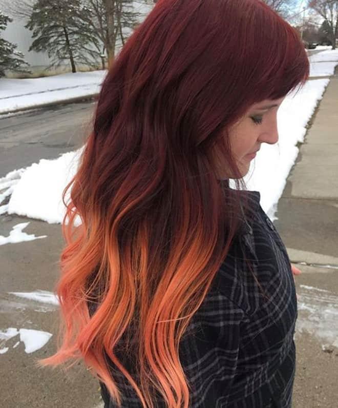 ginger peach hair color 4