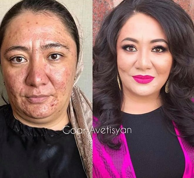 the most mind-blowing mature beauty transformations by goar avetisyan 3