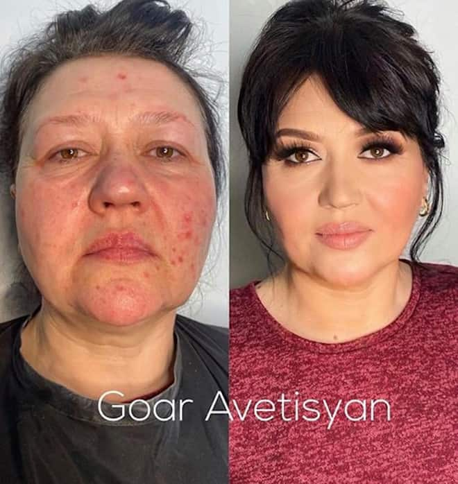 the most mind-blowing mature beauty transformations by goar avetisyan 6