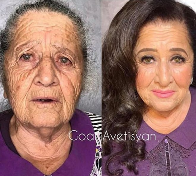 the most mind-blowing mature beauty transformations by goar avetisyan 7