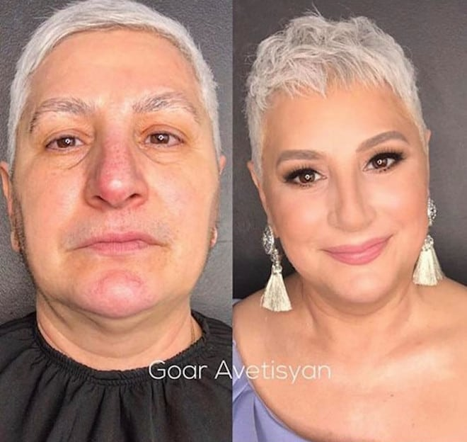 the most mind-blowing mature beauty transformations by goar avetisyan 8